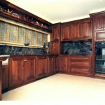 Traditional Classic Kitchen in Solid American Walnut 2