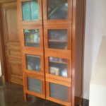 Laundry Cabinet in American Cherry 2