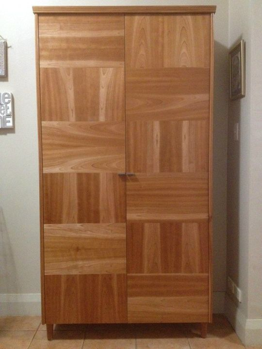 Storage Cabinet in American Cherry