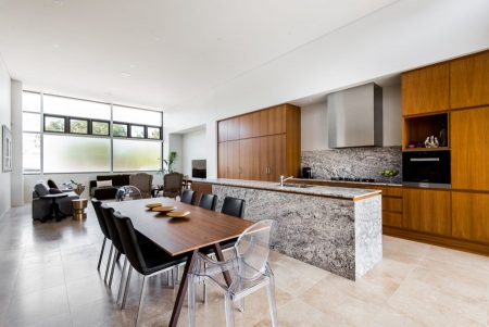 Kitchen designed by architect Sandy Anghie – crafted by G Mannino and Sons