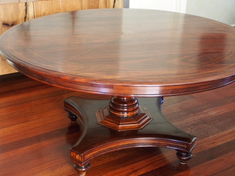 Antique table restoration: A labour of friendship