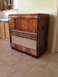 Circa 1950s Radiogram Restoration